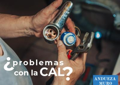 ¿problemas con la CAL?