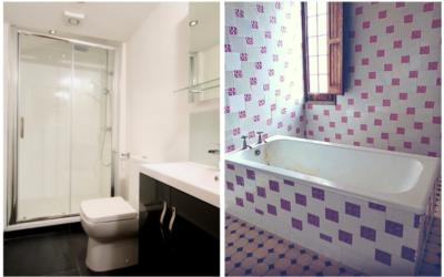 Reforma completa de baño en Pamplona