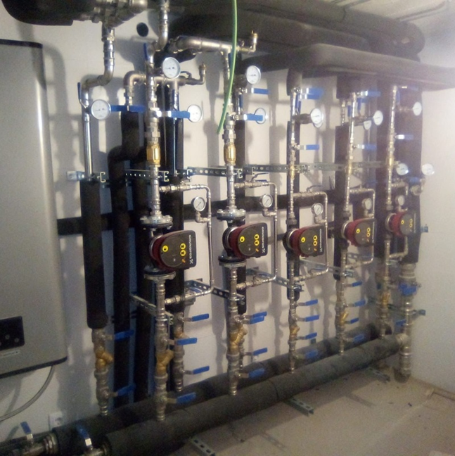 Servicio de calefacción y climatización